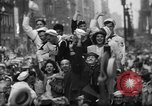 Image of victory celebrations United States USA, 1945, second 59 stock footage video 65675073311