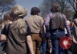 Image of Earth Day Washington DC USA, 1970, second 4 stock footage video 65675073314