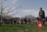 Image of Earth Day Washington DC USA, 1970, second 46 stock footage video 65675073314