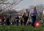 Image of Earth Day Washington DC USA, 1970, second 57 stock footage video 65675073314