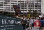 Image of Earth Day Washington DC USA, 1970, second 32 stock footage video 65675073316