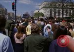 Image of protest march Washington DC USA, 1970, second 31 stock footage video 65675073318