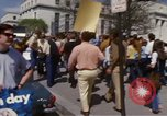 Image of protest march Washington DC USA, 1970, second 43 stock footage video 65675073318