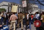 Image of protest march Washington DC USA, 1970, second 44 stock footage video 65675073318