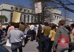 Image of protest march Washington DC USA, 1970, second 46 stock footage video 65675073318