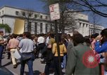 Image of protest march Washington DC USA, 1970, second 47 stock footage video 65675073318