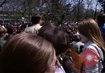 Image of Earth Day Washington DC USA, 1970, second 8 stock footage video 65675073321