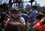 Image of Earth Day Washington DC USA, 1970, second 22 stock footage video 65675073321