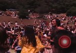 Image of Hippies dancing at a Love In Los Angeles County California USA, 1968, second 10 stock footage video 65675073325