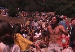Image of Hippies dancing at a Love In Los Angeles County California USA, 1968, second 12 stock footage video 65675073325