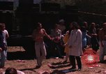 Image of Hippies dancing at a Love In Los Angeles County California USA, 1968, second 16 stock footage video 65675073325