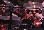 Image of Hippies dancing at a Love In Los Angeles County California USA, 1968, second 36 stock footage video 65675073325