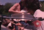 Image of Hippies dancing at a Love In Los Angeles County California USA, 1968, second 42 stock footage video 65675073325