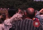Image of Hippies dancing at a Love In Los Angeles County California USA, 1968, second 58 stock footage video 65675073325