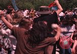 Image of Hippies dancing at a Love In Los Angeles County California USA, 1968, second 59 stock footage video 65675073325