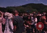 Image of Hippies dancing at a Love In Los Angeles County California USA, 1968, second 60 stock footage video 65675073325