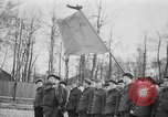 Image of memorial ceremony Germany, 1945, second 39 stock footage video 65675073347