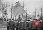 Image of memorial ceremony Germany, 1945, second 40 stock footage video 65675073347