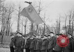 Image of memorial ceremony Germany, 1945, second 41 stock footage video 65675073347