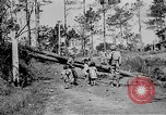 Image of Filipino soldiers Baguio Philippine Islands, 1945, second 40 stock footage video 65675073351