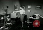 Image of woman worker arguing with boss United States USA, 1965, second 38 stock footage video 65675073400