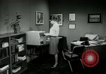 Image of woman worker arguing with boss United States USA, 1965, second 39 stock footage video 65675073400