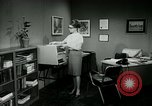 Image of woman worker arguing with boss United States USA, 1965, second 41 stock footage video 65675073400