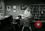Image of woman worker arguing with boss United States USA, 1965, second 44 stock footage video 65675073400