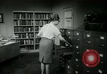 Image of woman worker arguing with boss United States USA, 1965, second 48 stock footage video 65675073400