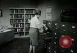Image of woman worker arguing with boss United States USA, 1965, second 49 stock footage video 65675073400