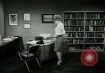 Image of woman worker arguing with boss United States USA, 1965, second 54 stock footage video 65675073400