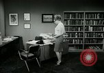 Image of woman worker arguing with boss United States USA, 1965, second 56 stock footage video 65675073400