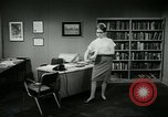 Image of woman worker arguing with boss United States USA, 1965, second 61 stock footage video 65675073400