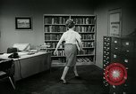 Image of woman worker arguing with boss United States USA, 1965, second 62 stock footage video 65675073400
