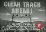 Image of railroad development United States USA, 1948, second 10 stock footage video 65675073407
