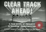 Image of railroad development United States USA, 1948, second 16 stock footage video 65675073407