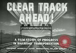 Image of railroad development United States USA, 1948, second 18 stock footage video 65675073407