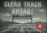 Image of railroad development United States USA, 1948, second 20 stock footage video 65675073407