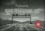 Image of railroad development United States USA, 1948, second 23 stock footage video 65675073407