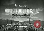 Image of railroad development United States USA, 1948, second 26 stock footage video 65675073407