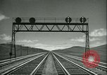 Image of railroad development United States USA, 1948, second 33 stock footage video 65675073407