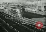 Image of 1940s passenger railroad train operations and personnel United States USA, 1948, second 4 stock footage video 65675073411