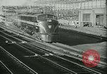 Image of 1940s passenger railroad train operations and personnel United States USA, 1948, second 7 stock footage video 65675073411