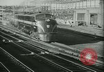 Image of 1940s passenger railroad train operations and personnel United States USA, 1948, second 8 stock footage video 65675073411