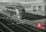 Image of 1940s passenger railroad train operations and personnel United States USA, 1948, second 9 stock footage video 65675073411