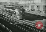 Image of 1940s passenger railroad train operations and personnel United States USA, 1948, second 10 stock footage video 65675073411
