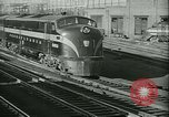 Image of 1940s passenger railroad train operations and personnel United States USA, 1948, second 13 stock footage video 65675073411
