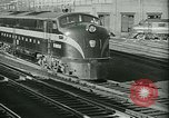 Image of 1940s passenger railroad train operations and personnel United States USA, 1948, second 14 stock footage video 65675073411