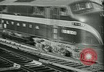 Image of 1940s passenger railroad train operations and personnel United States USA, 1948, second 17 stock footage video 65675073411