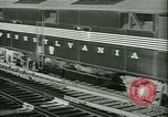 Image of 1940s passenger railroad train operations and personnel United States USA, 1948, second 18 stock footage video 65675073411